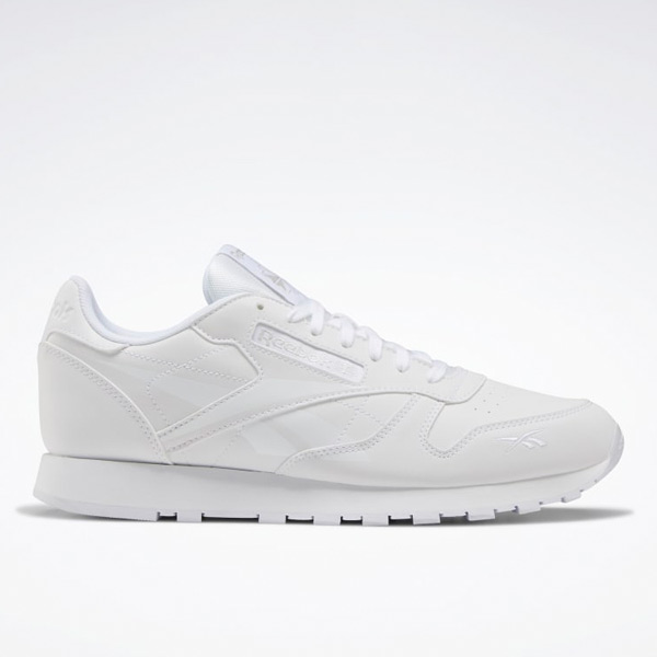 Reebok Classic Leather Men's Running Shoes in White