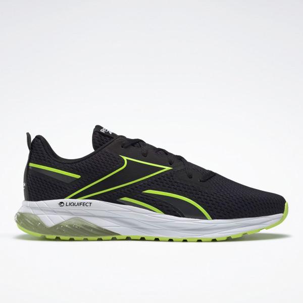 Reebok Liquifect Spring Men's Running Shoes in Black / Solar Yellow