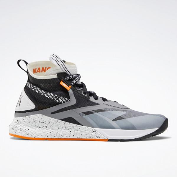 Reebok Nano X Unknown Men's Mid-Cut Training Shoes in Grey