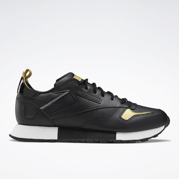 Reebok Classic Leather Ree:DUX Unisex Shoes in Black