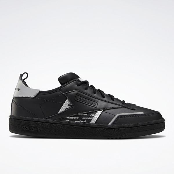 Reebok Club C Ree:Dux Women's Shoes in Black