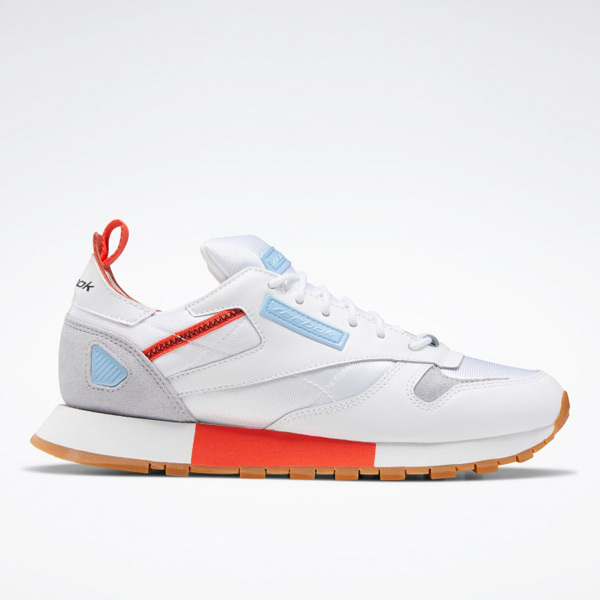 Reebok Classic Leather Ree:Dux Women's Retro Running Shoes in White