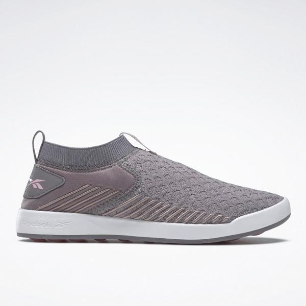 Reebok Women's Ever Road DMX Slip-On Walking Shoes in Grey