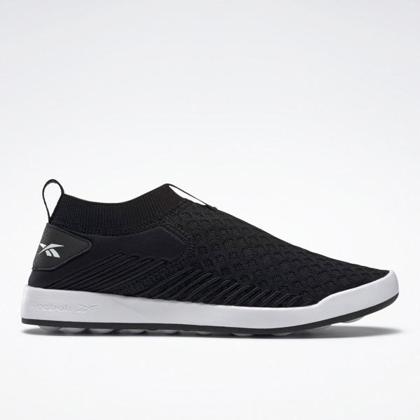 Reebok Women's Ever Road DMX Slip-On Walking Shoes in Black
