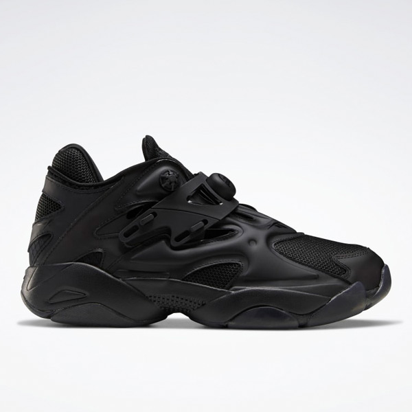 Reebok Pump Court Unisex Shoes in Black