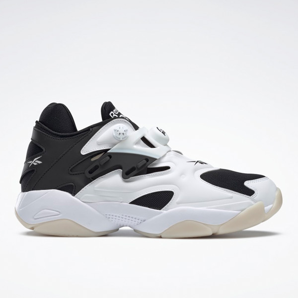 Reebok Pump Court Unisex Shoes in White / Black