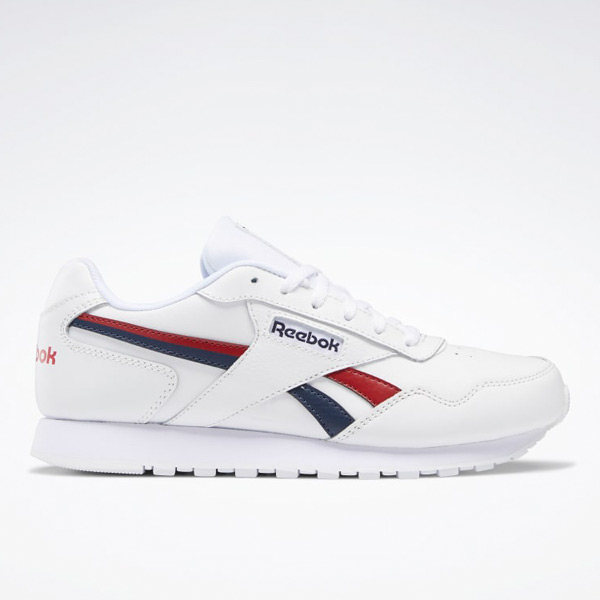 Reebok Classic Harman Run Women's Lifestyle Shoes in White / Navy / Red