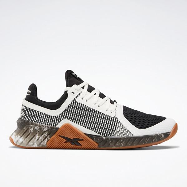 Reebok Flashfilm Trainer Men's Training Shoes in Black / White