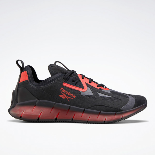 Reebok Zig Kinetica Concept_Type2 Unisex Shoes in Black / Red