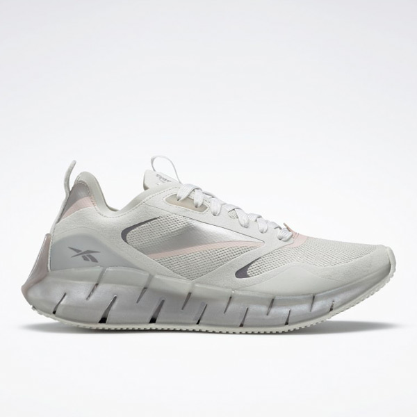 Reebok Women's Zig Kinetica Horizon Lifestyle Shoes in Light Grey
