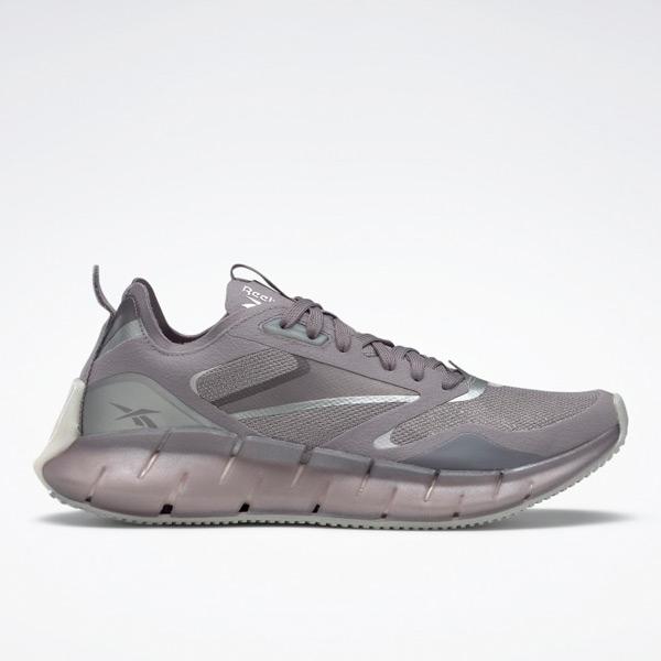 Reebok Women's Zig Kinetica Horizon Lifestyle Shoes in Grey / Pink