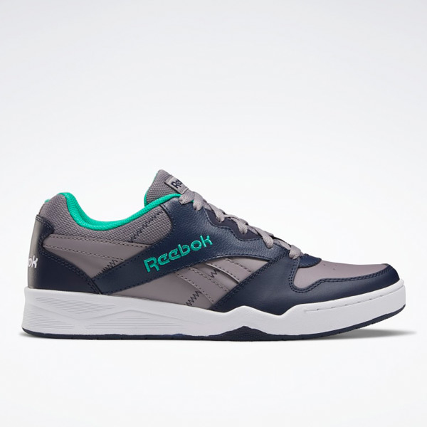 Reebok Royal BB4500 Low 2 Men's Basketball Shoes in Grey / Navy