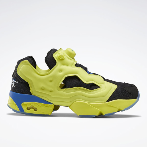 Reebok Awake Instapump Fury OG Unisex Shoes in Solar Green