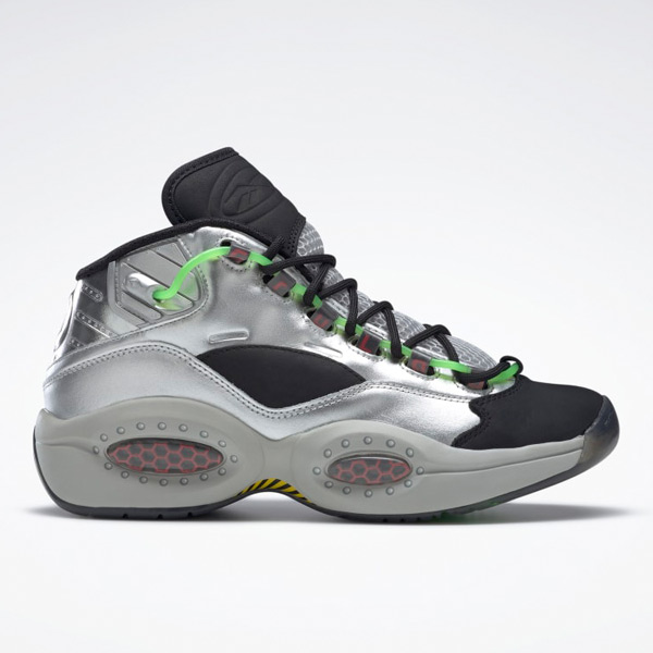 Reebok Unisex Minion Question Mid Basketball Shoes in Silver