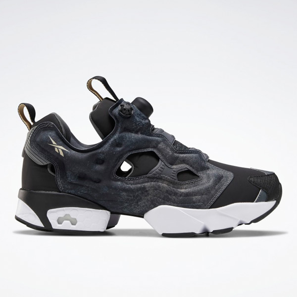 Reebok Unisex Instapump Fury OG Retro Running Shoes in Black