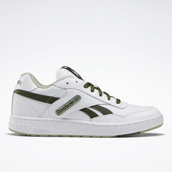 Reebok Unisex BB 4000 Basketball Shoes in White / Poplar Green