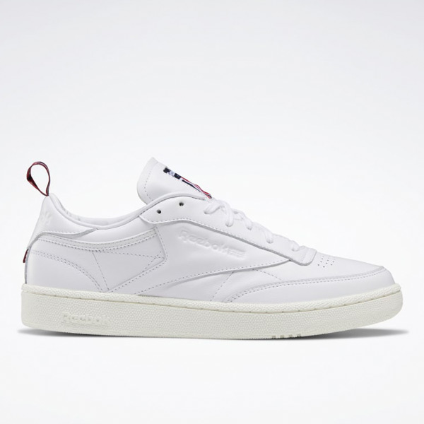 Reebok Unisex Club C 85 Court Shoes in White