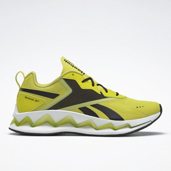 Reebok Unisex Zig Elusion Energy Lifestyle Shoes in Yellow