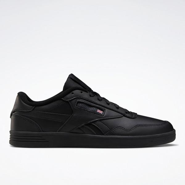 Reebok Club MEMT Men's Court Shoes in Black
