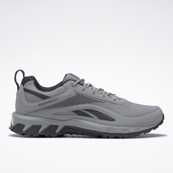 Reebok Ridgerider 6 Men's Trail-Walking Shoes in Grey