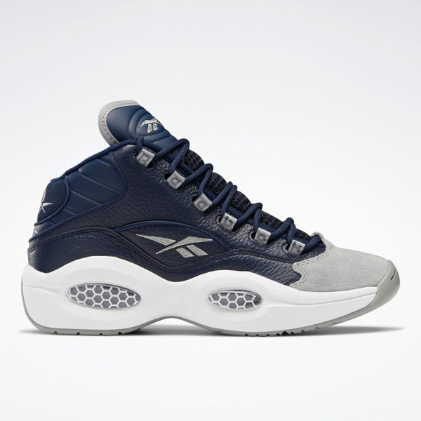 Reebok Question Mid Men's Basketball Shoes in Indigo