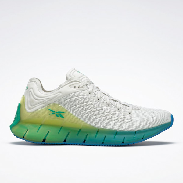 Reebok Unisex Zig Kinetica Running Shoes in Grey