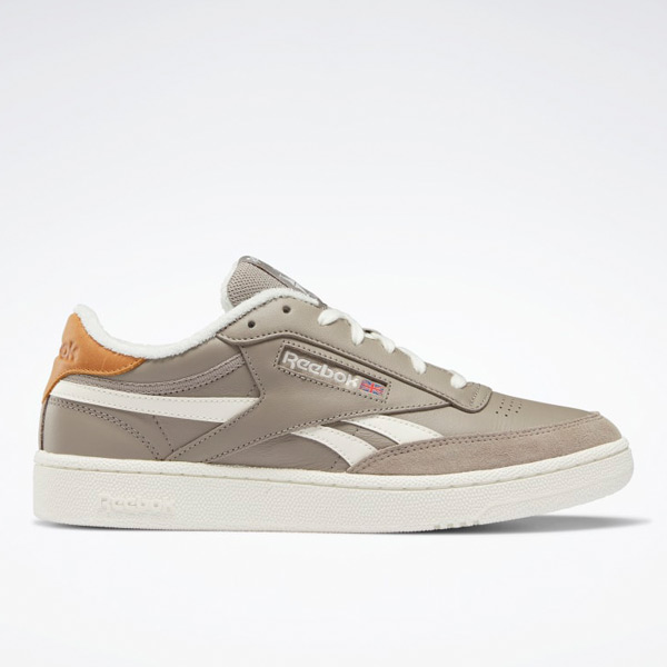 Reebok Men's Club C Revenge Court Shoes in Boulder Grey