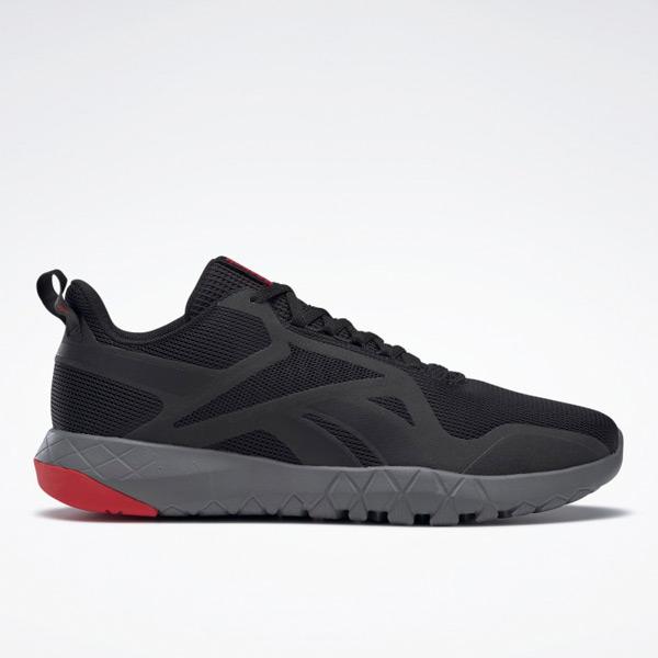 Reebok Flexagon Force 3 4E Men's Cross Training Shoes in Black