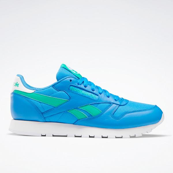 Reebok Unisex Classic Leather Lifestyle Shoes in Horizon Blue