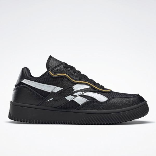 Reebok VB Dual Court II Unisex Shoes in Black