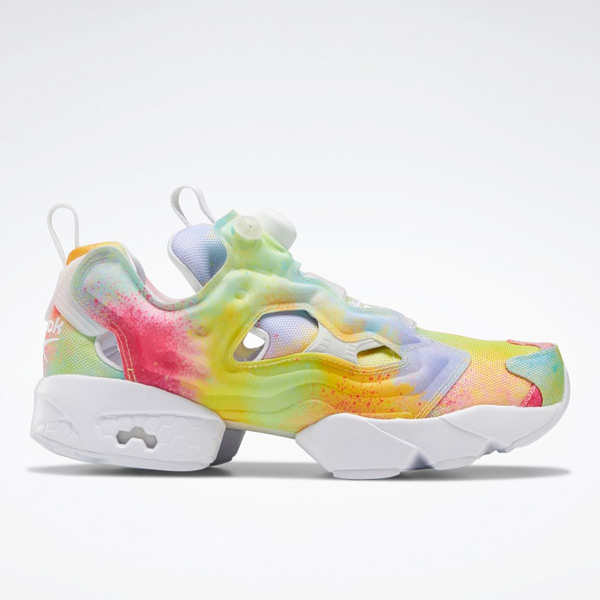 Reebok Unisex Instapump Fury Pride Retro Running Shoes in Multicolor