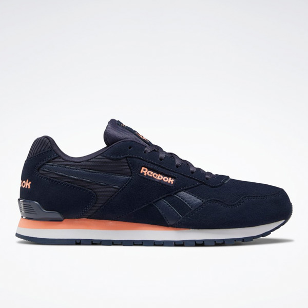 Reebok Women's Classic Harman Run Clip Lifestyle Shoes in Navy
