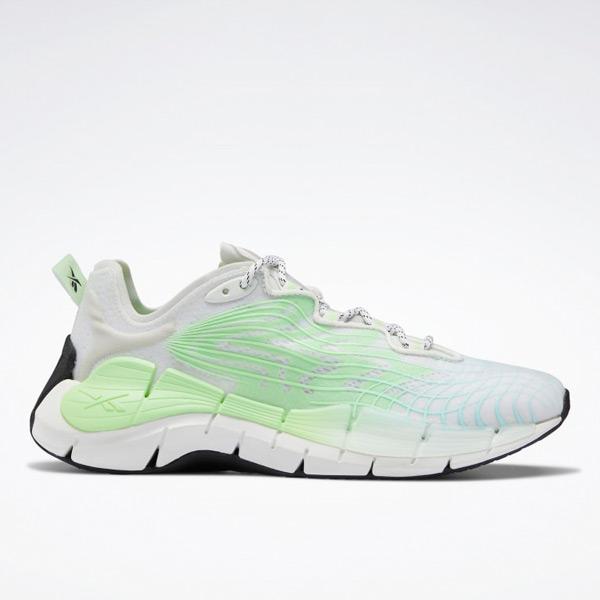 Reebok Zig Kinetica II Women's Lifestyle Shoes in Green / Grey
