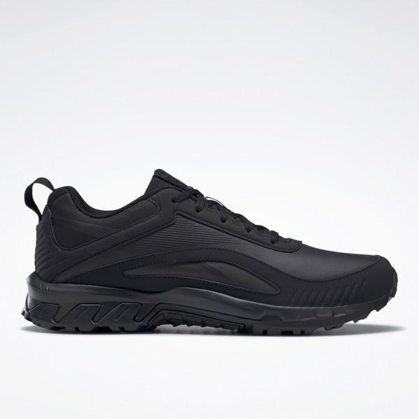 Reebok Ridgerider 6 Men's Leather Hiking / Walking Shoes in Black