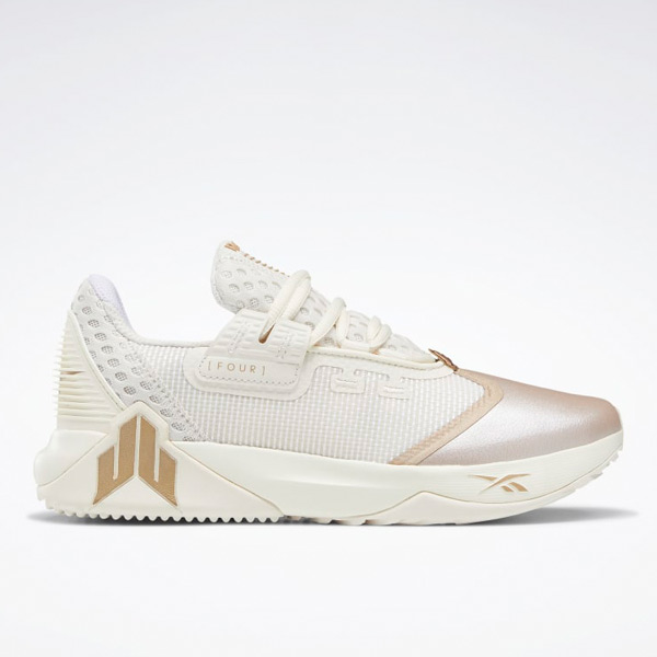 Reebok Women's JJ IV Training Shoes in White / Champagne