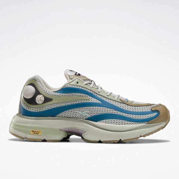Reebok Unisex EightyOne Premier Pump Paris Retro Running Shoes in Grey
