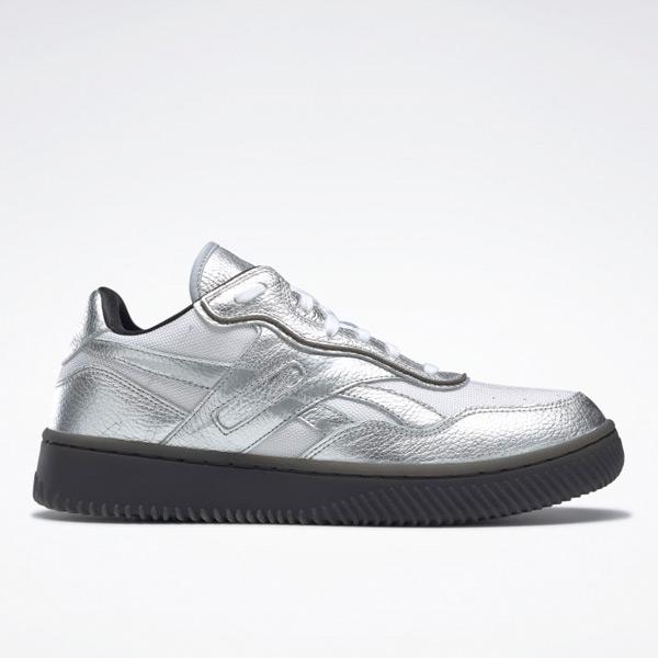 Reebok VB Dual Court II Unisex Shoes in Silver