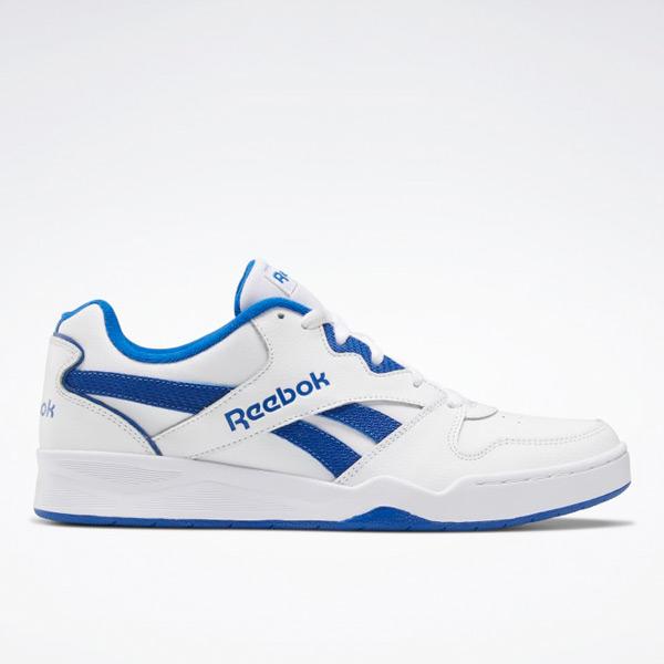 Reebok Royal BB4500 Low 2 Men's Basketball Shoes in White / Blue