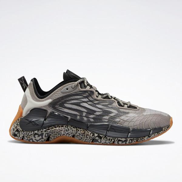 Reebok Zig Kinetica II Women's Lifestyle Shoes in Grey