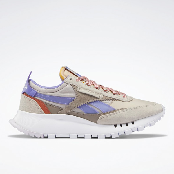 Reebok Classic Leather Legacy Women's Lifestyle Shoes in Grey Sand