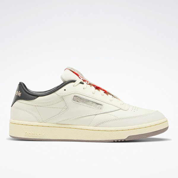 Reebok Club C 85 Men's Court Shoes in Classic White