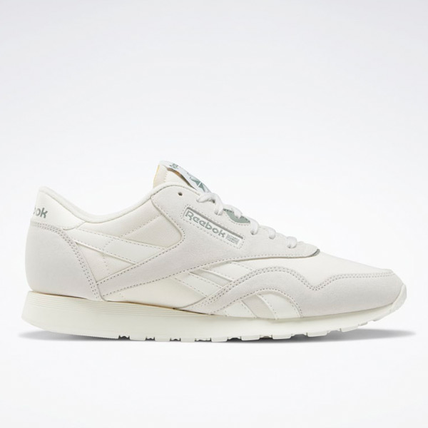 Reebok Classic Nylon / Suede Men's Lifestyle Shoes in Grey