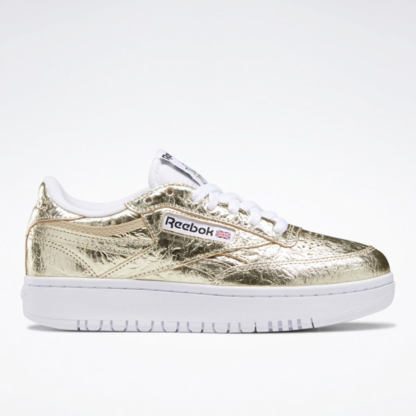 Reebok Club C Double Women's Court Shoes in Gold