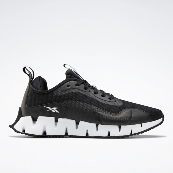 Reebok Zig Dynamica Men's Running Shoes in Black / White