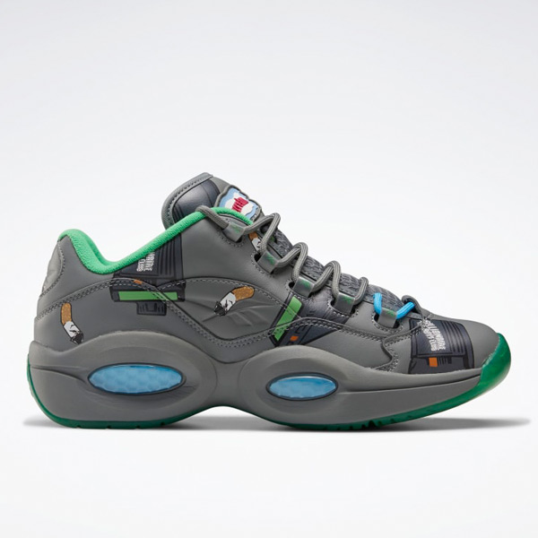 Reebok BBC Question Low Men's Basketball Shoes in Grey