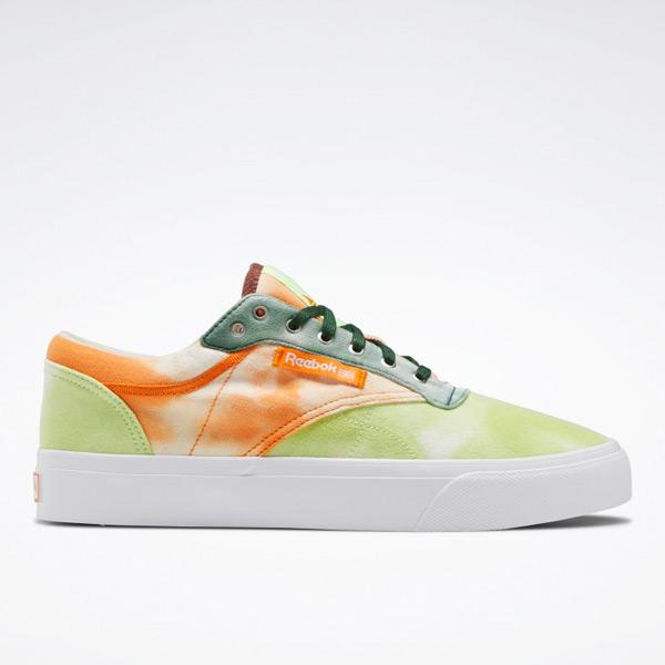 Reebok Unisex Club C Coast Court Shoes in Electric Flash / Orange