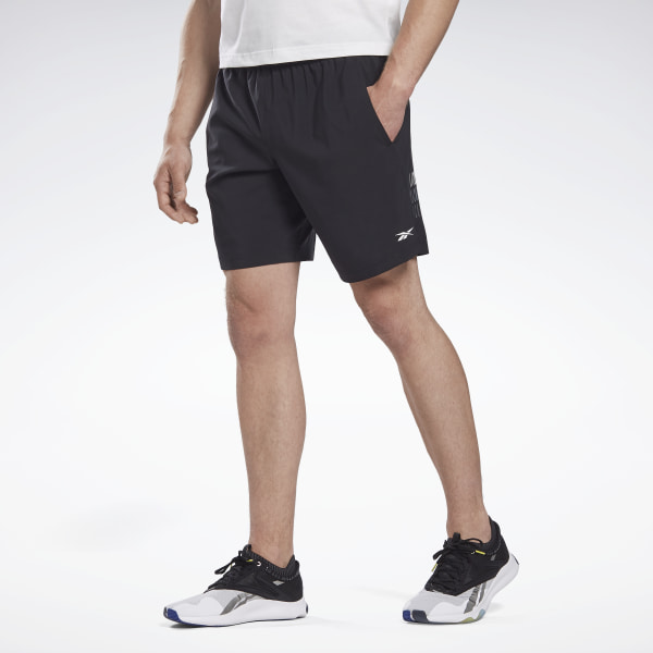 Reebok LES MILLS® 9-Inch Men's Studio Shorts in Black