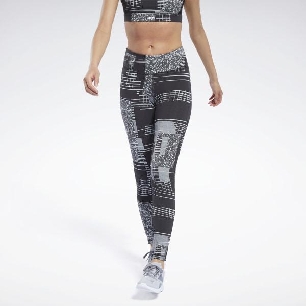 Reebok Lux 2 Women's Training Tights in Black / Grey