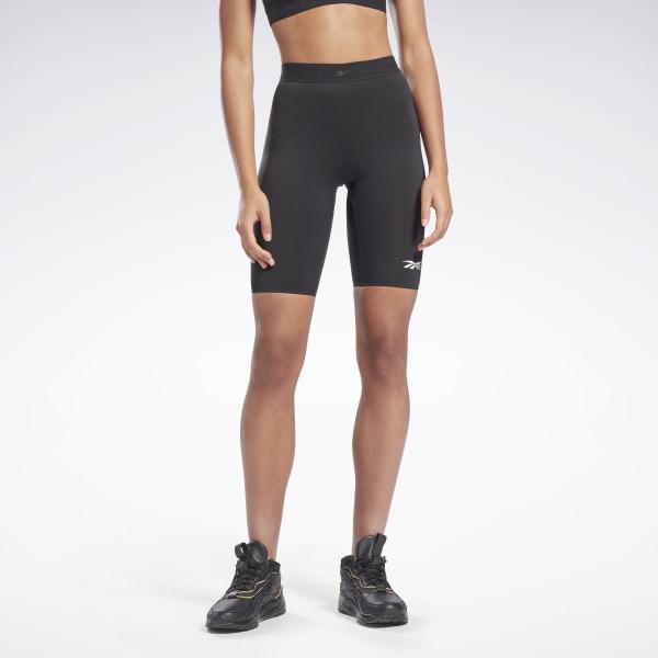 Reebok VB Women's Training Performance Cycling Shorts in Black