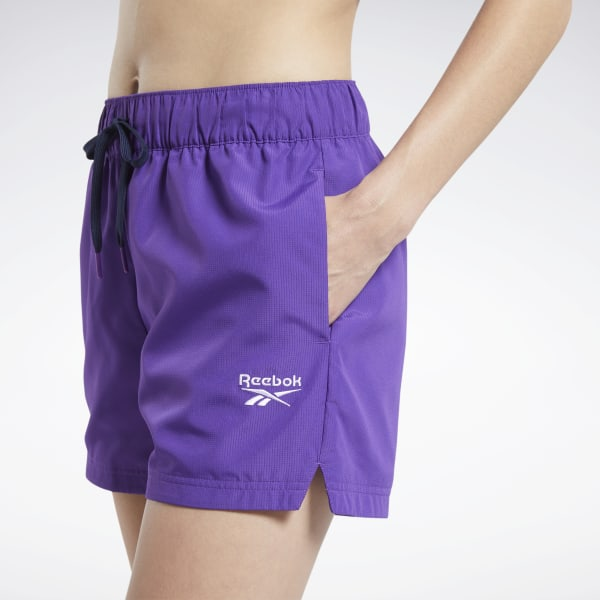 Reebok Classics Women's Casual Shorts in Purple